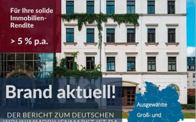 Neuer Bericht zum deutschen Immobilienmarkt ist da!