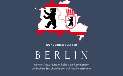 Berliner Mietpreisbegrenzung geplant!